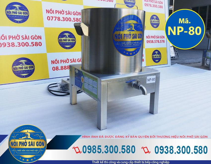 Báo giá nồi nấu phở bằng điện 80 Lít NPSG