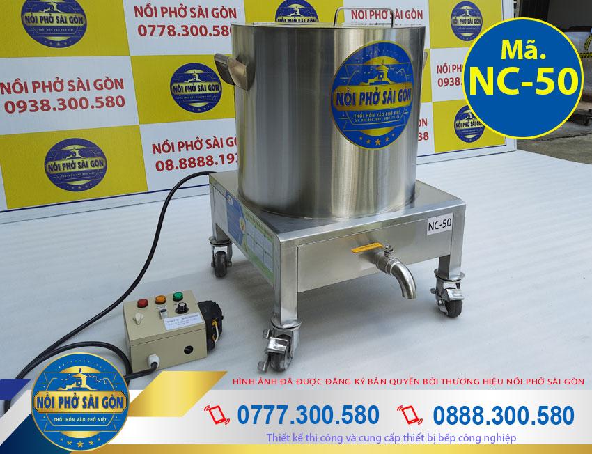 Giá nồi nấu cháo công nghiệp 50L NC-50