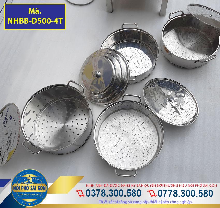 các xửng hấp bằng chất liệu inox 304