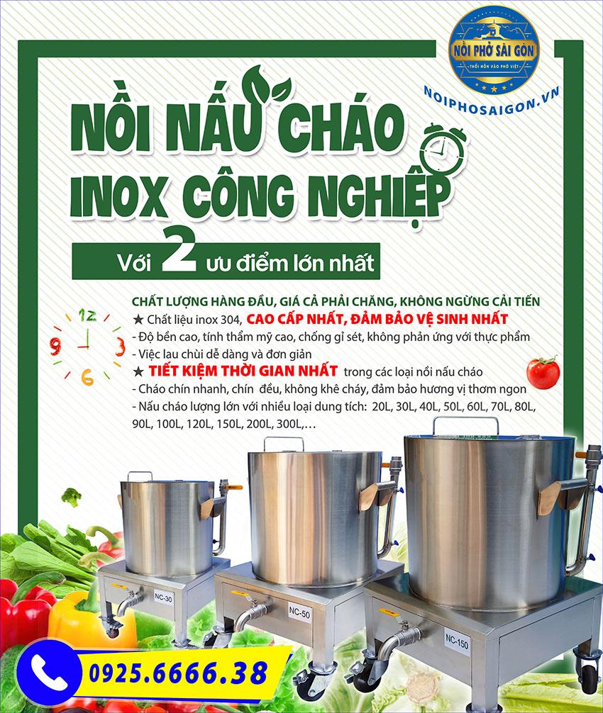 Mua nồi nấu cháo bằng điện công nghiệp ở đâu tại Sài Gòn