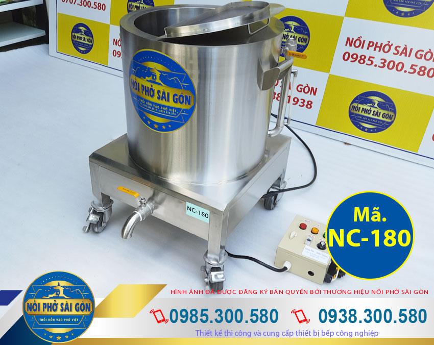 Báo giá nồi điện nấu cháo công nghiệp 180L