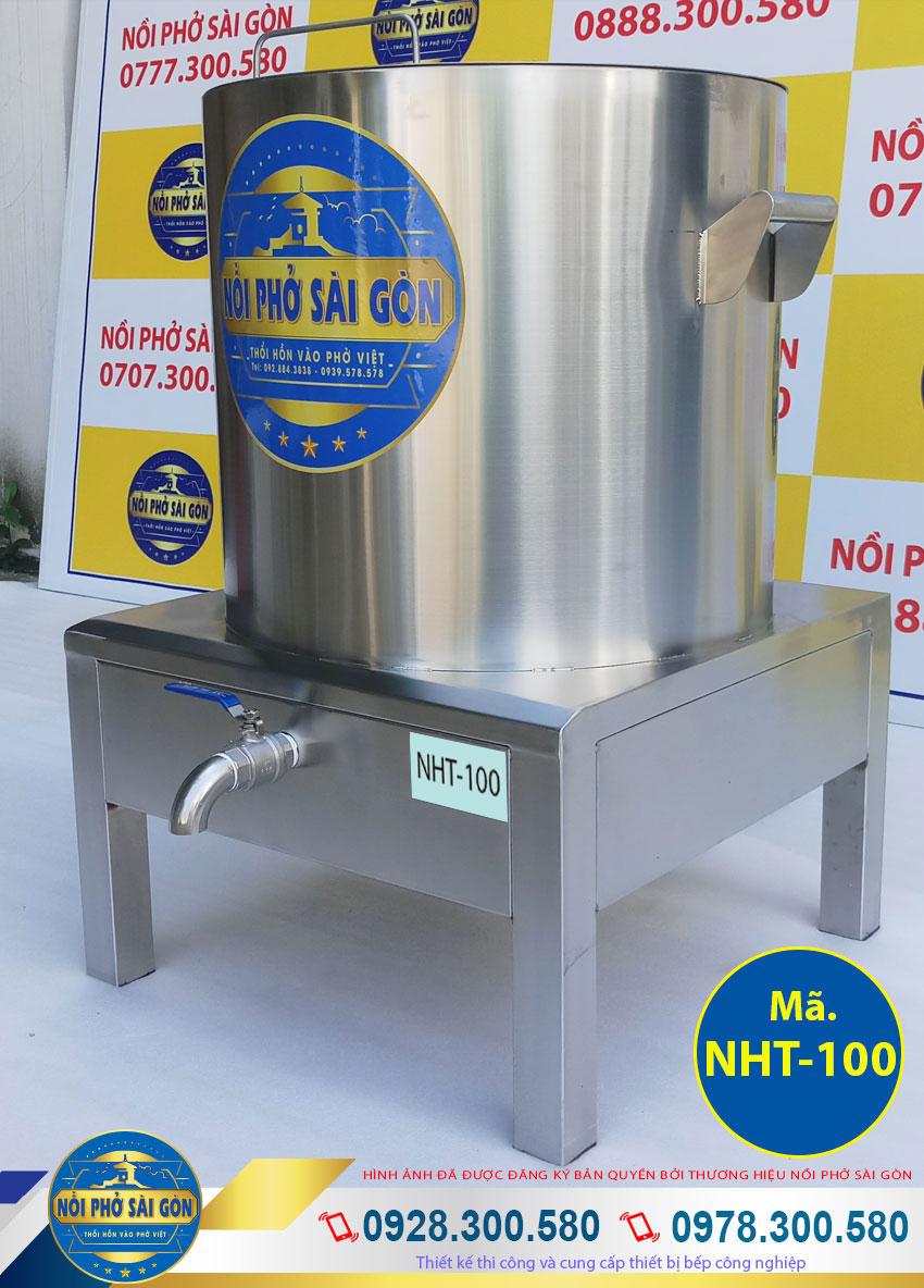 Báo giá nồi nấu hủ tiếu công nghiệp 100L