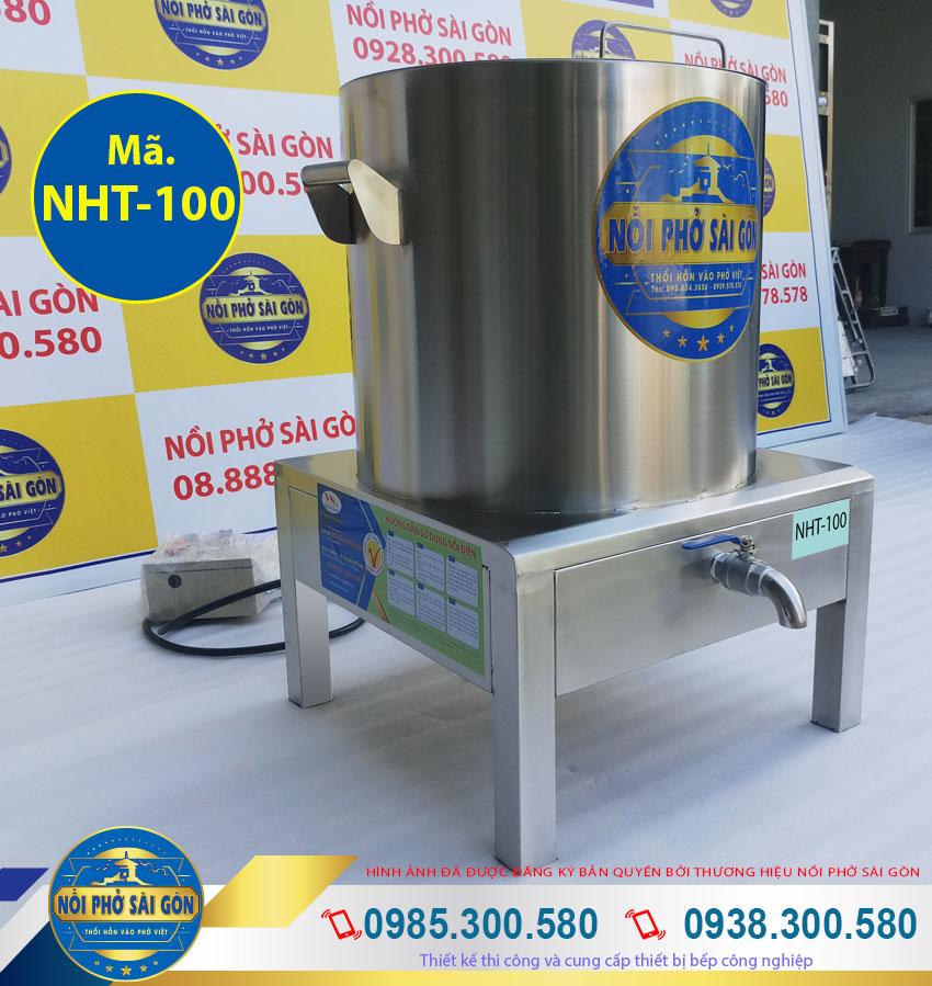 bếp điện nấu hủ tiếu 100 lít