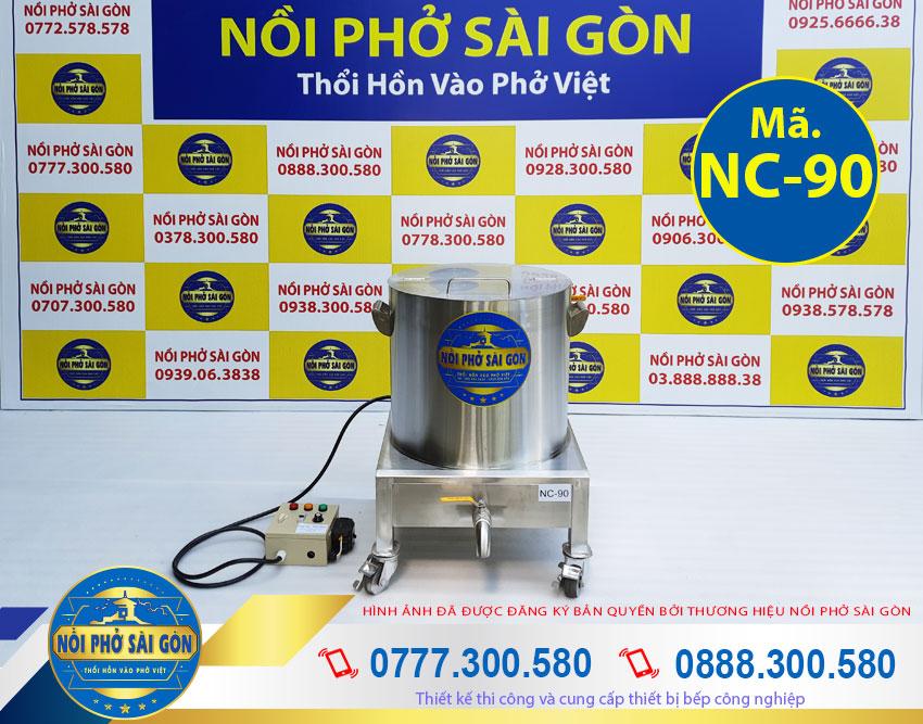 Giá bán nồi nấu cháo bằng điện 90L HCM