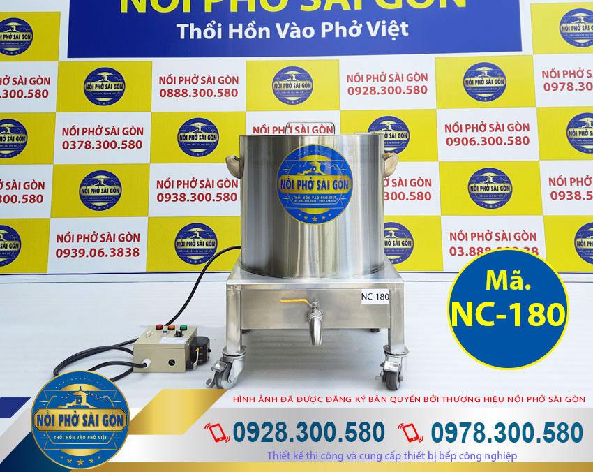 Giá bán nồi nấu cháo bằng điện 180L inox 304