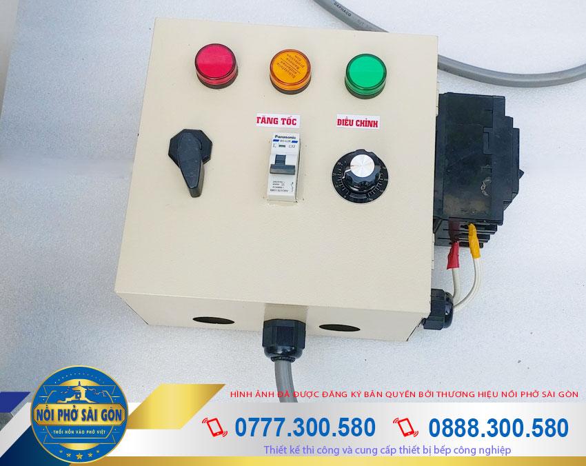 hộp điện nồi nấu cháo công nghiệp 90L NC-90