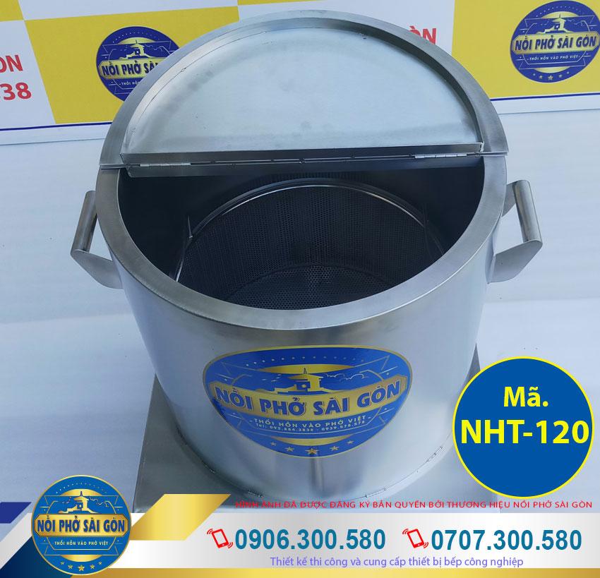 thân nồi 2 lớp inox 304 có foam cách nhiệt an toàn