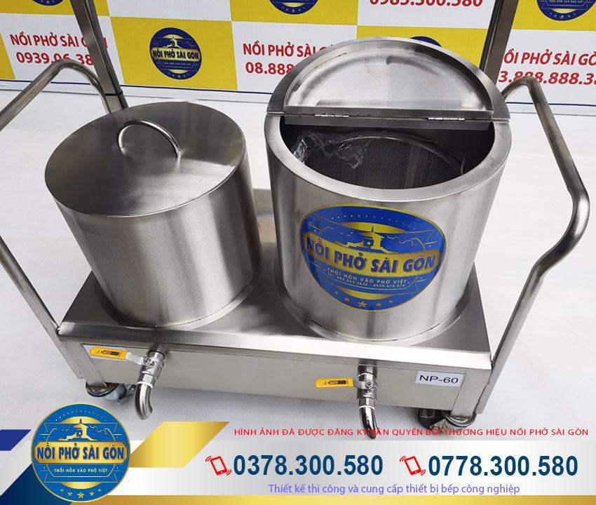 bộ nồi điện nấu phở 30 60 Lít