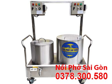 Bộ nồi nấu phở bằng điện 30L - 60L