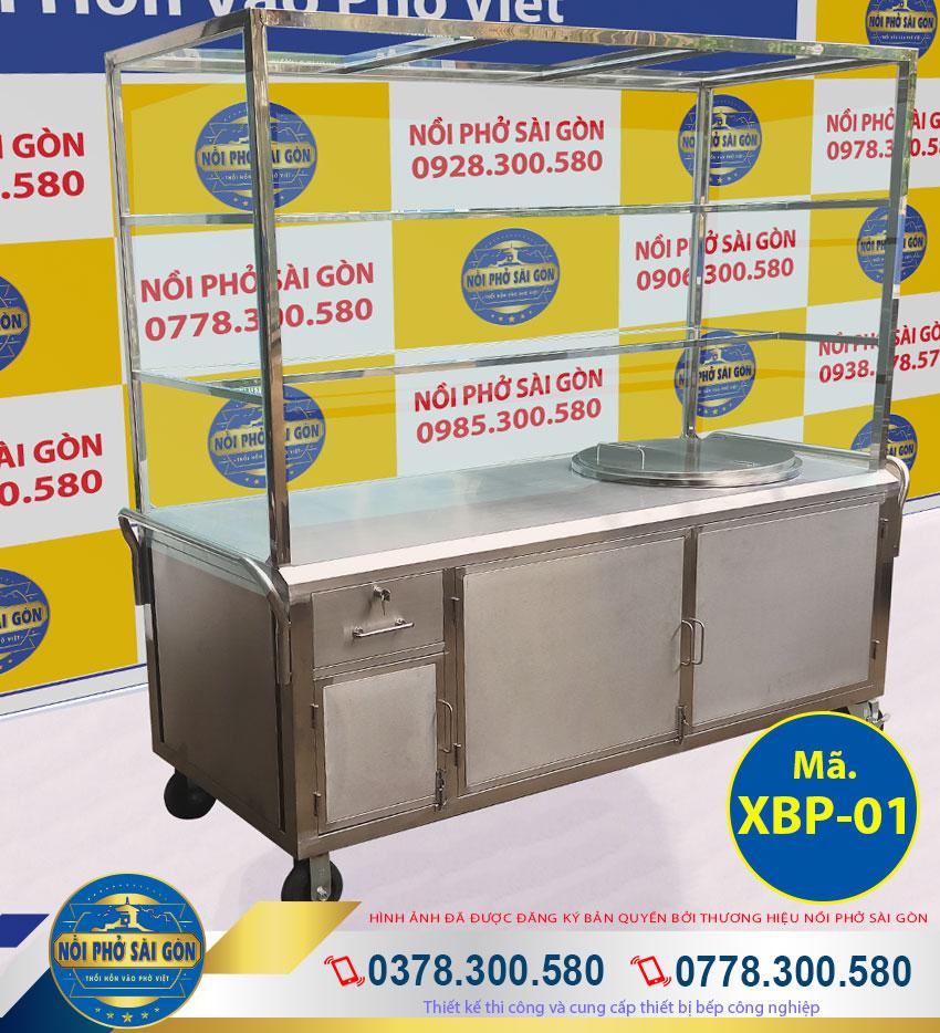 tủ bán hủ tiếu inox 304 cao cấp